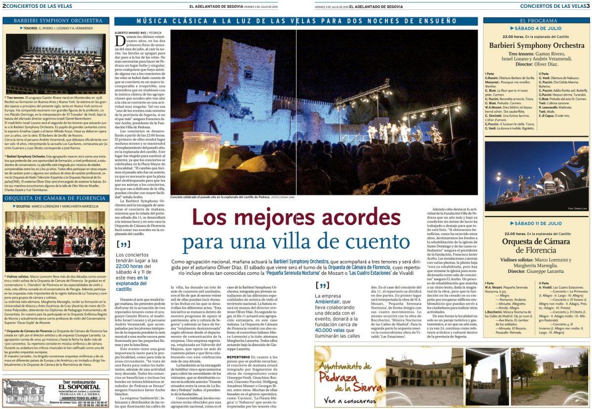"""<span class=""""light"""">El</span> Adelantado – Julio 2015"""