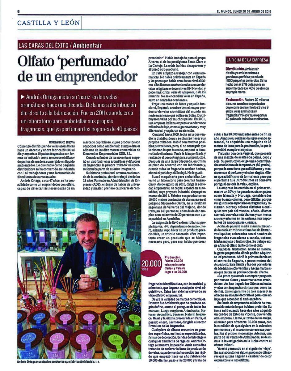 """<span class=""""light"""">El</span> Mundo Castilla y León – 20 Junio 2016"""