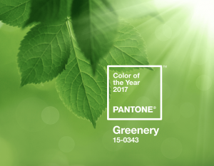 Pantone Greenery Color del Año 2017