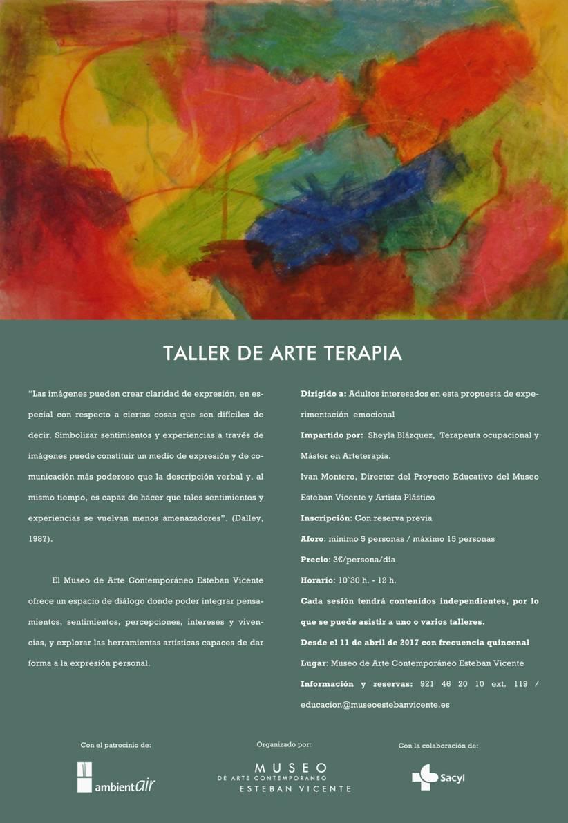 Taller de Arteterapia en el Museo de Arte Contemporáneo Esteban Vicente