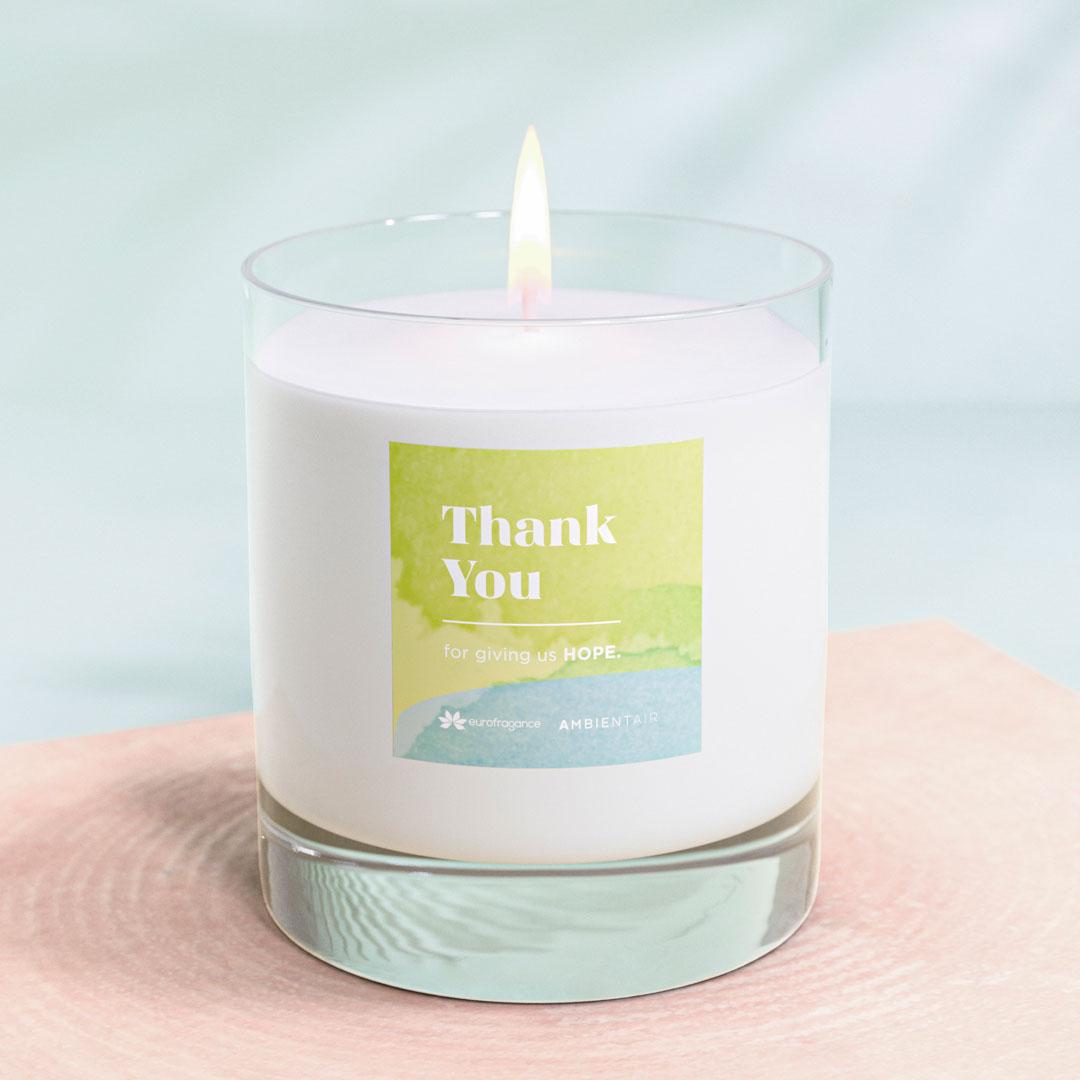 Eurofragance y Ambientair se unen para crear 'Thank you'