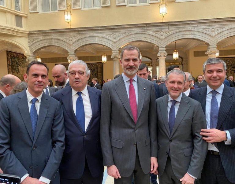 Ambientair Aromas y Andrés Ortega, Embajadores Honorarios de la Marca España