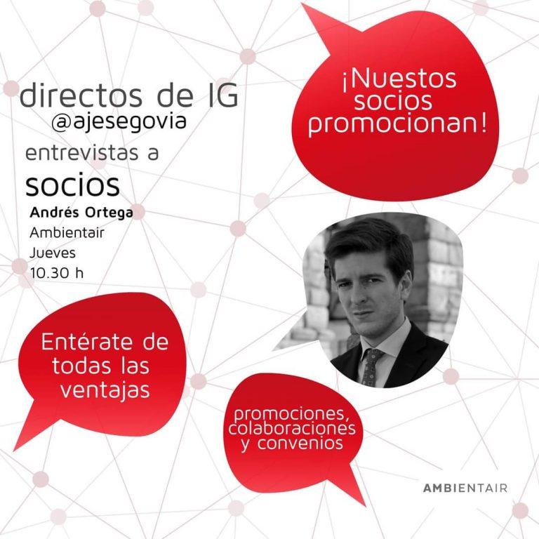 AJE Segovia entrevista a Ambientair